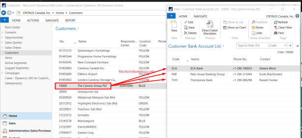 Regular Table Relation – DYNAMICS 365 BUSINESS CENTRAL